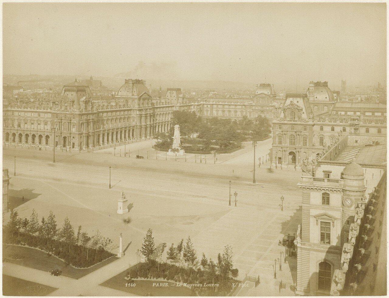 1850-е. Новый Лувр
