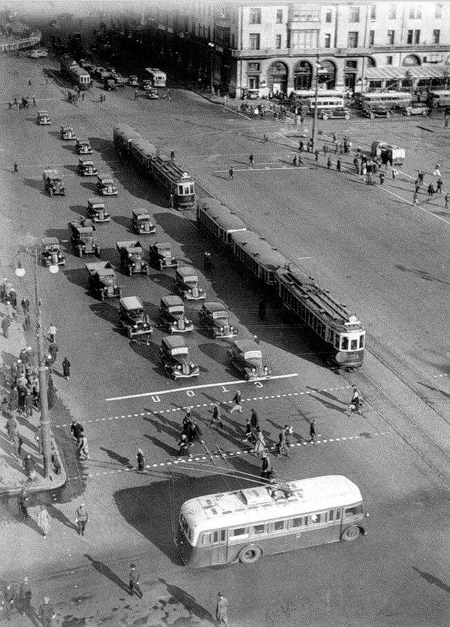 1950-е. Площадь Свердлова