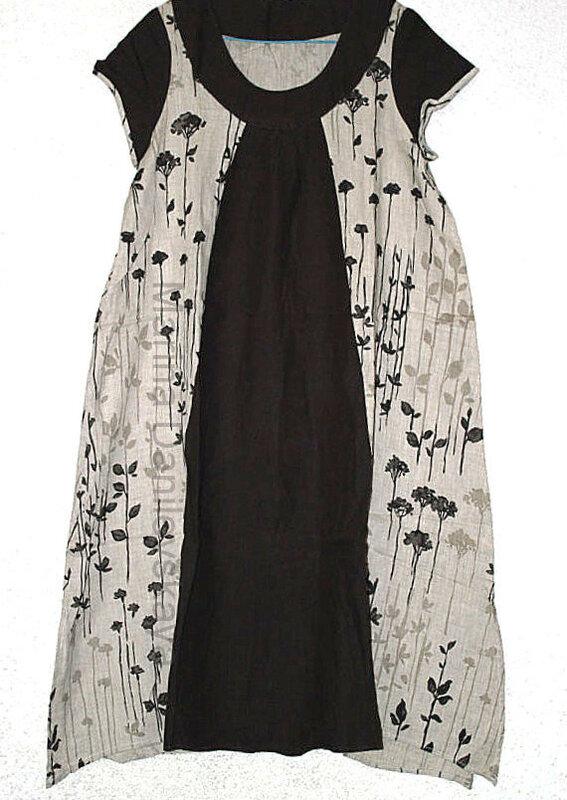 расширяем платье Marina Danilevskaya