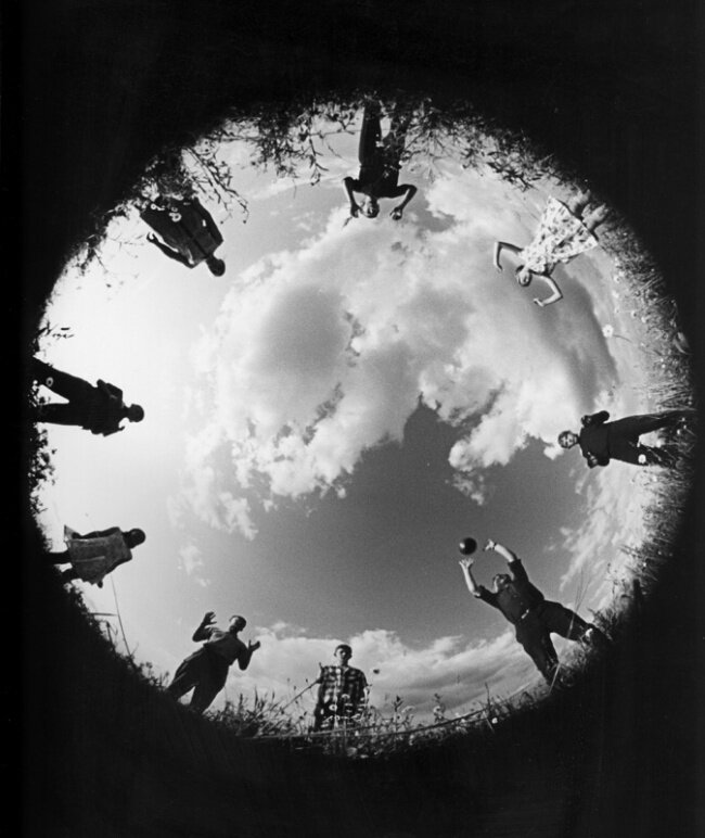 Лев Бородулин «Мы играем в волейбол», 1965.jpg