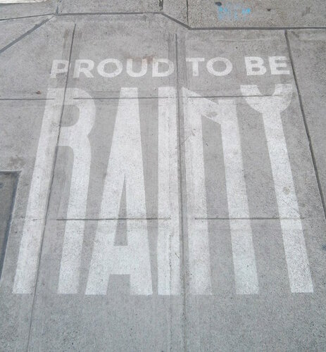 Proud to be rainy