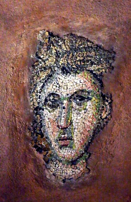 Лик. Мозаика церкви Святых Апостолов в Салониках. XIV век.