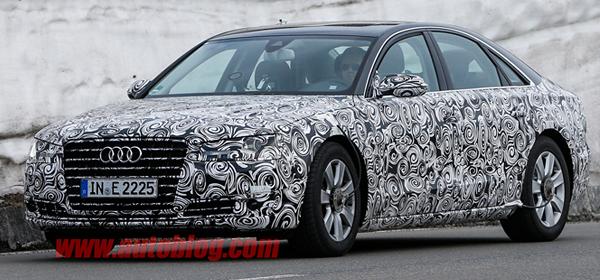 На Audi A8 появится автопилот