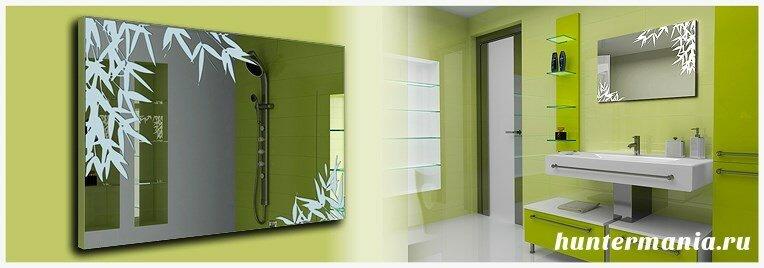Выбираем подходящее зеркало в ванную комнату