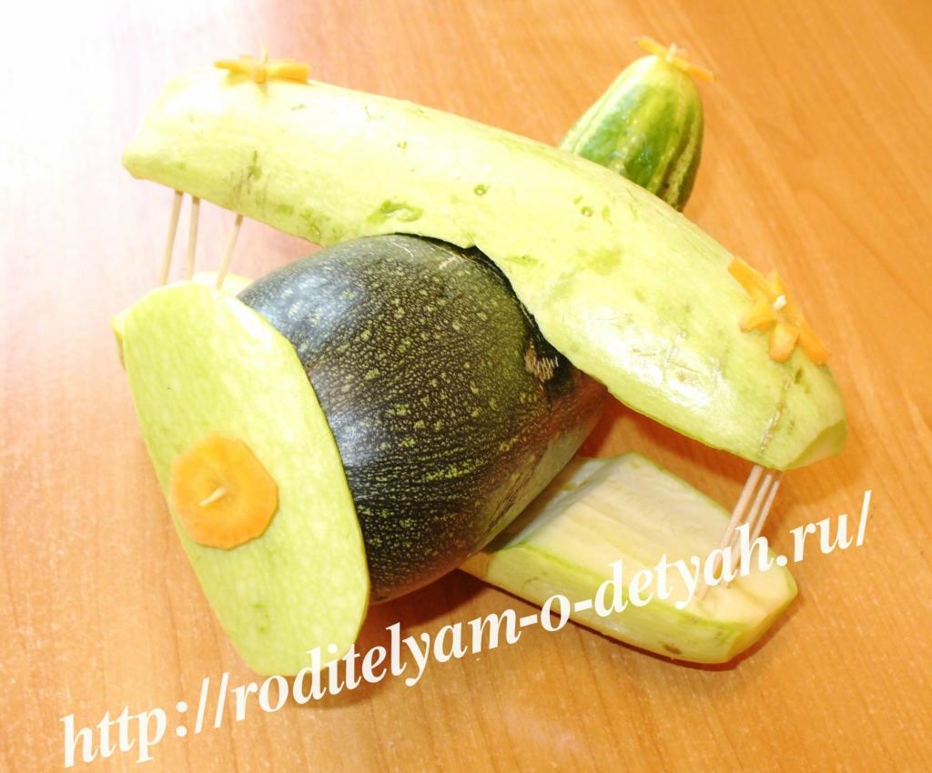 Поделки из овощей к празднику осени
