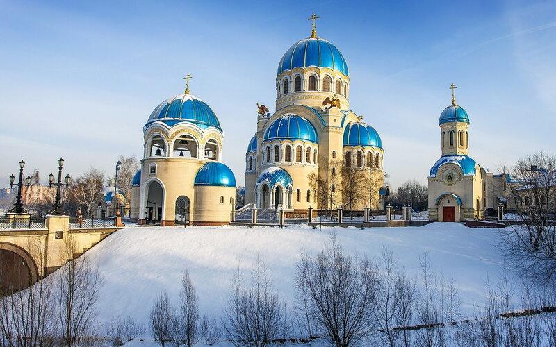 Храмы зима фотки картинки