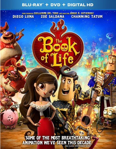 Книга жизни / The Book of Life (2014/BDRip/1080p/720p/HDRip)