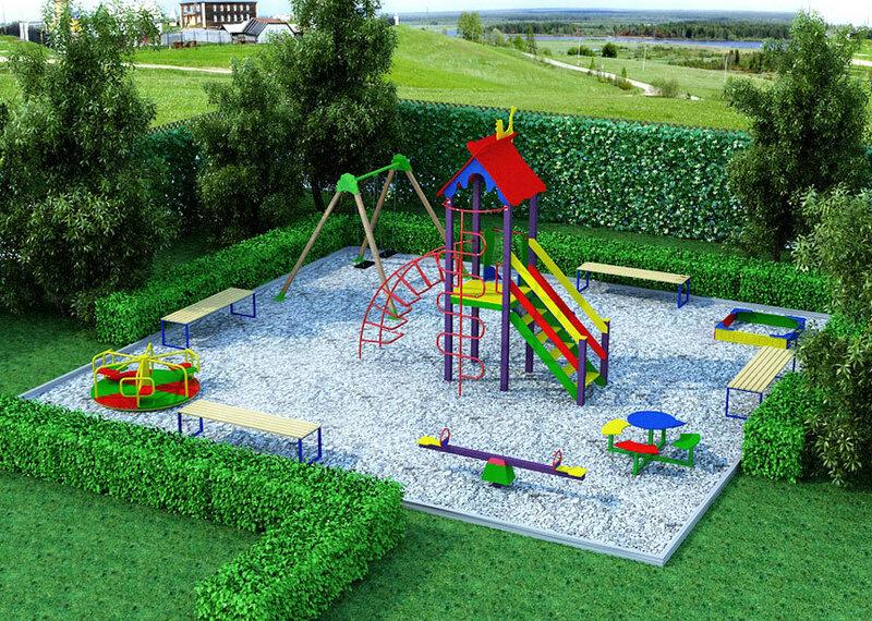 Делаем детская площадка