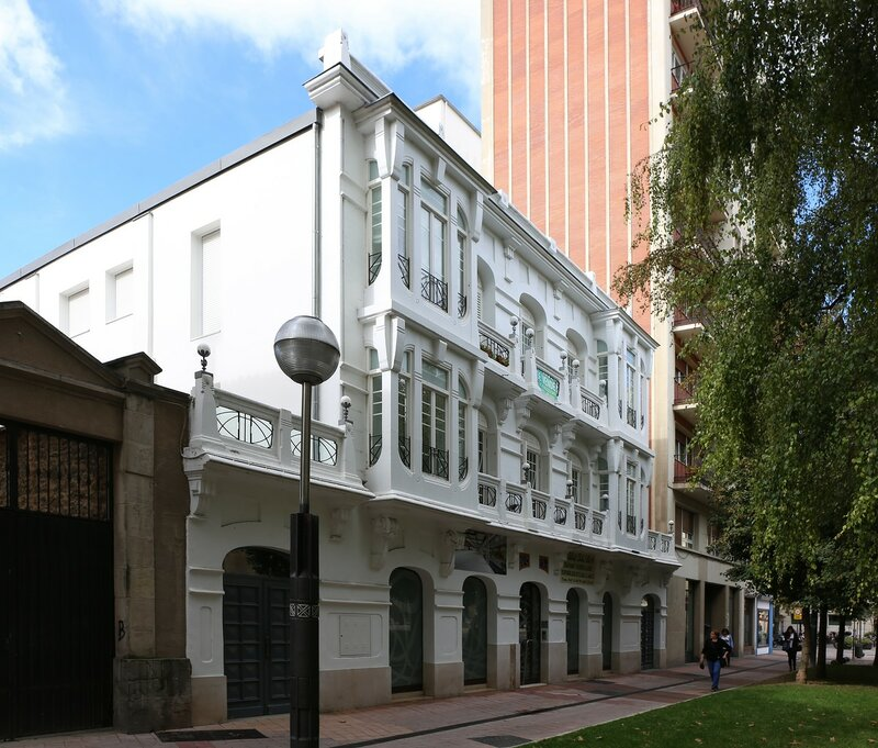 Vitoria-Gasteiz. Alley of Vicente Goicoechea (Calle de Vicente Goicoechea)