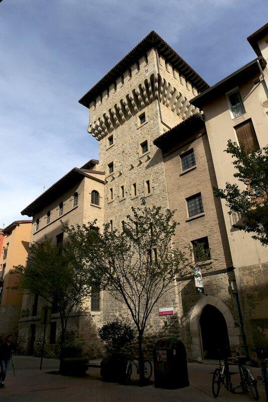 Витория-Гастейс. Башня доньи Очанды (Torre de Doña Ochanda)