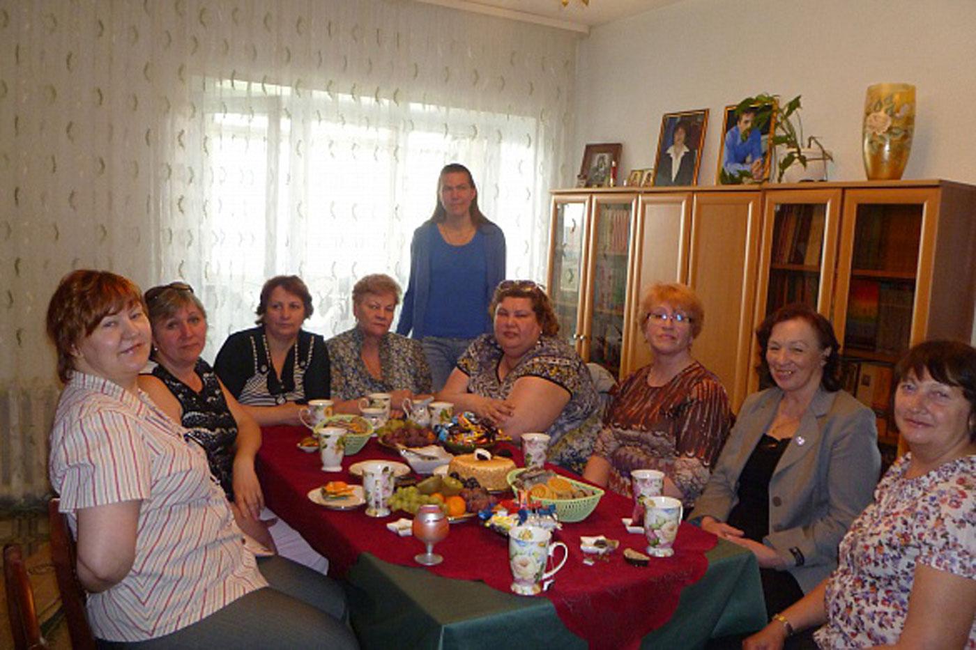 Родительское собрание с Гулей Бессоновой
