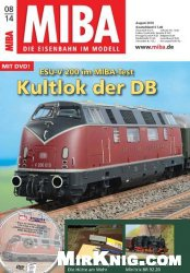 MIBA Die Eisenbahn im Modell - August  2014