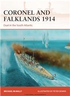 Книга Coronel and Falklands 1914: Duel in the South Atlantic (Osprey Campaign 248)