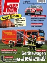 Журнал Feuerwehr Magazin №7 2013