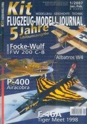 Журнал Kit Flugzeug-Modell Journal 2007-01