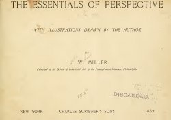 Книга The essentials of perspective, with illustrations drawn by the author