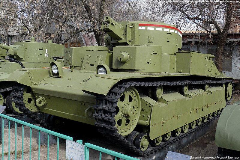 12. Музей ВС. 22.04.15.12.средний танк Т-28. 1933..jpg