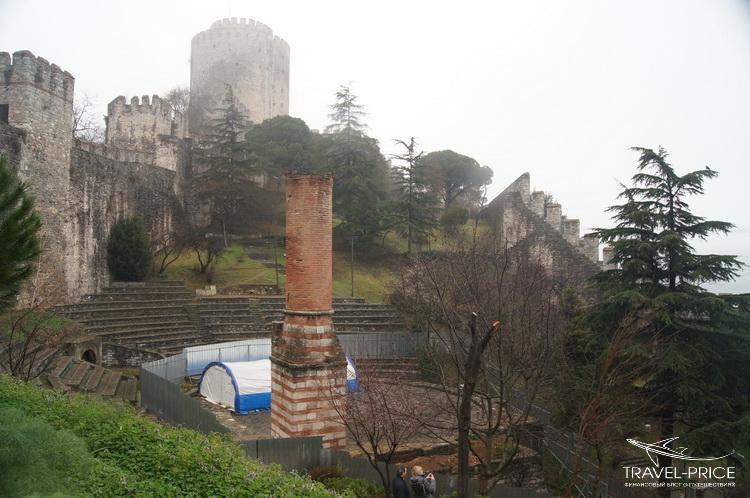 амфитеатр в крепости Румели Хисари