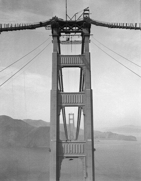 Watchf Associated Press Domestic News  California United States APHS56954 GOLDEN GATE BRIDGE