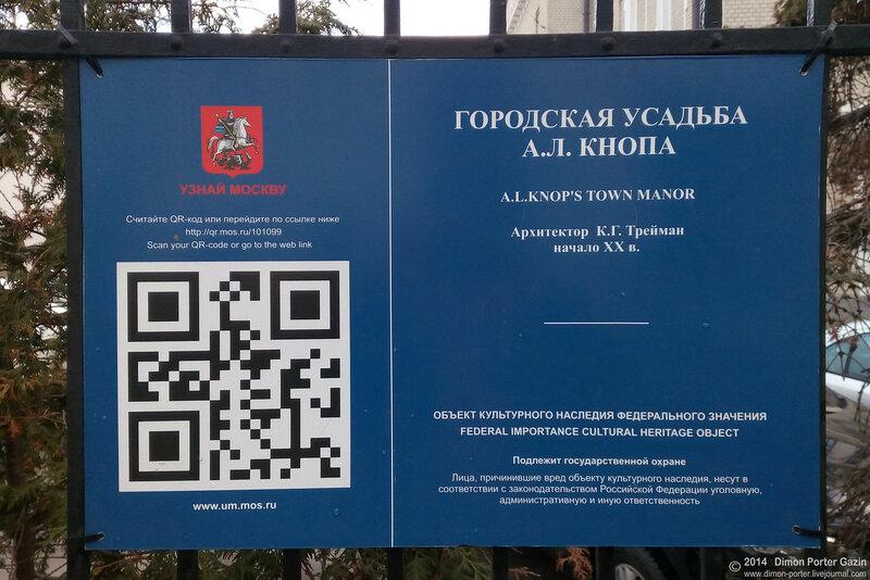 Москва. Замок Кнопа