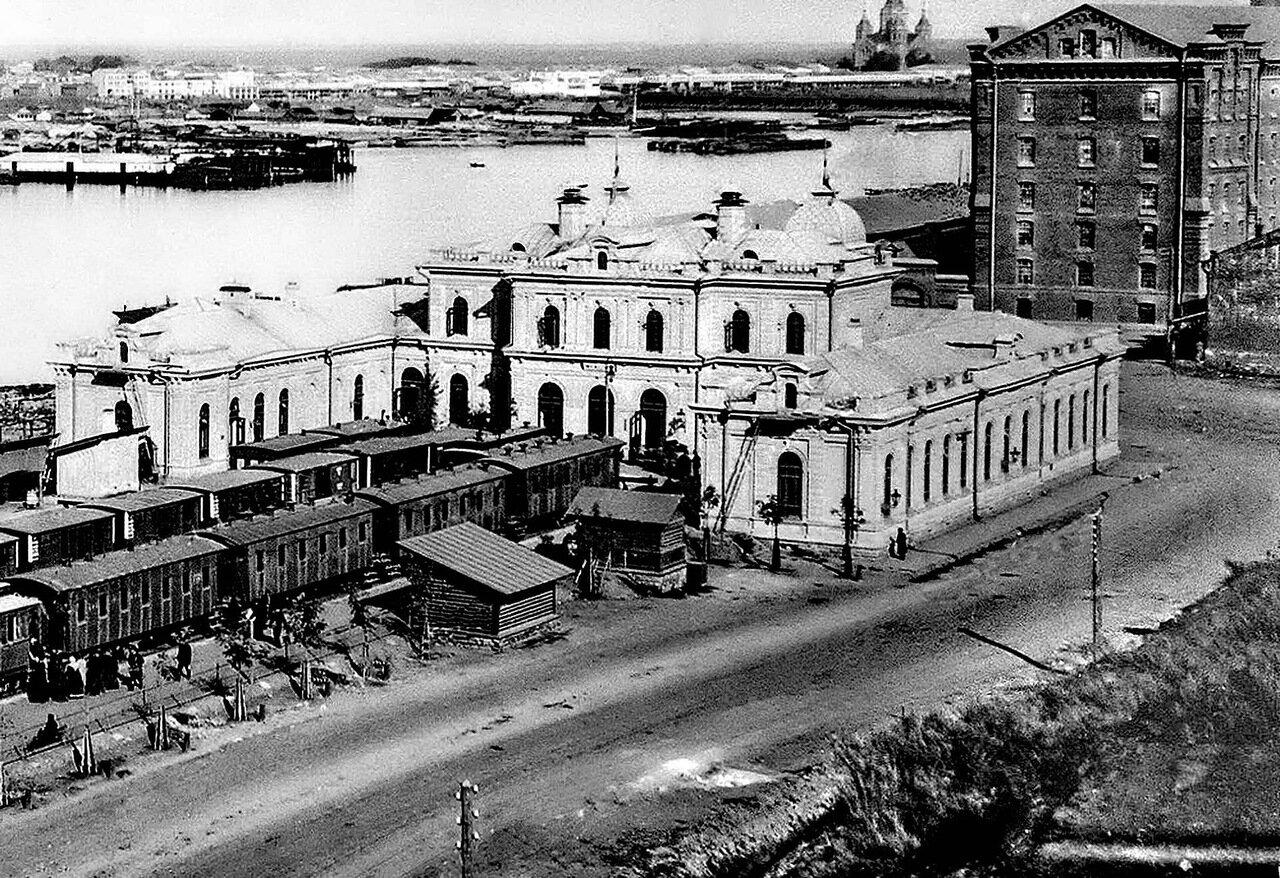 Улица Черниговская. Ромодановский вокзал