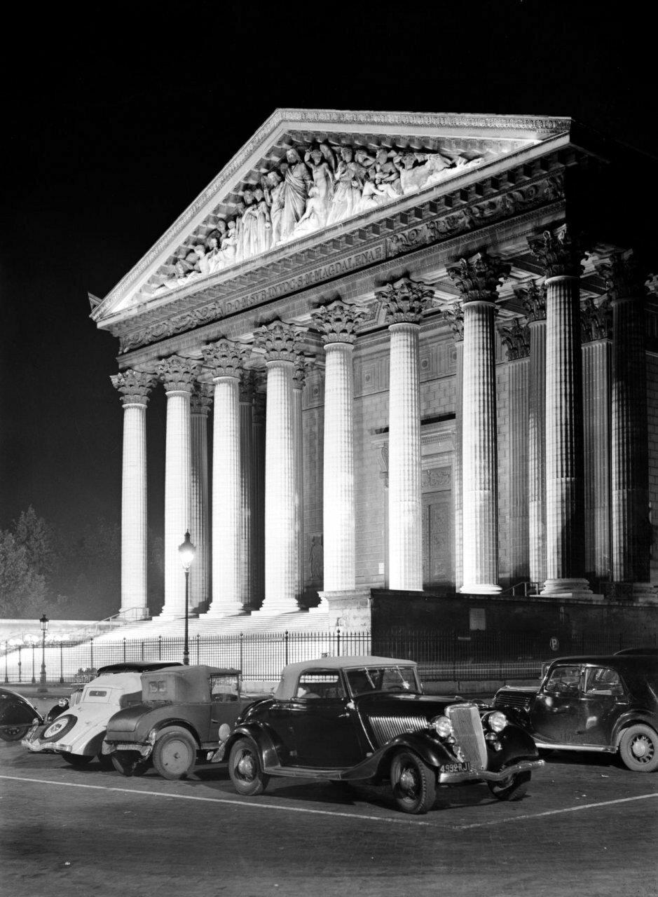 1935. Площадь Мадлен