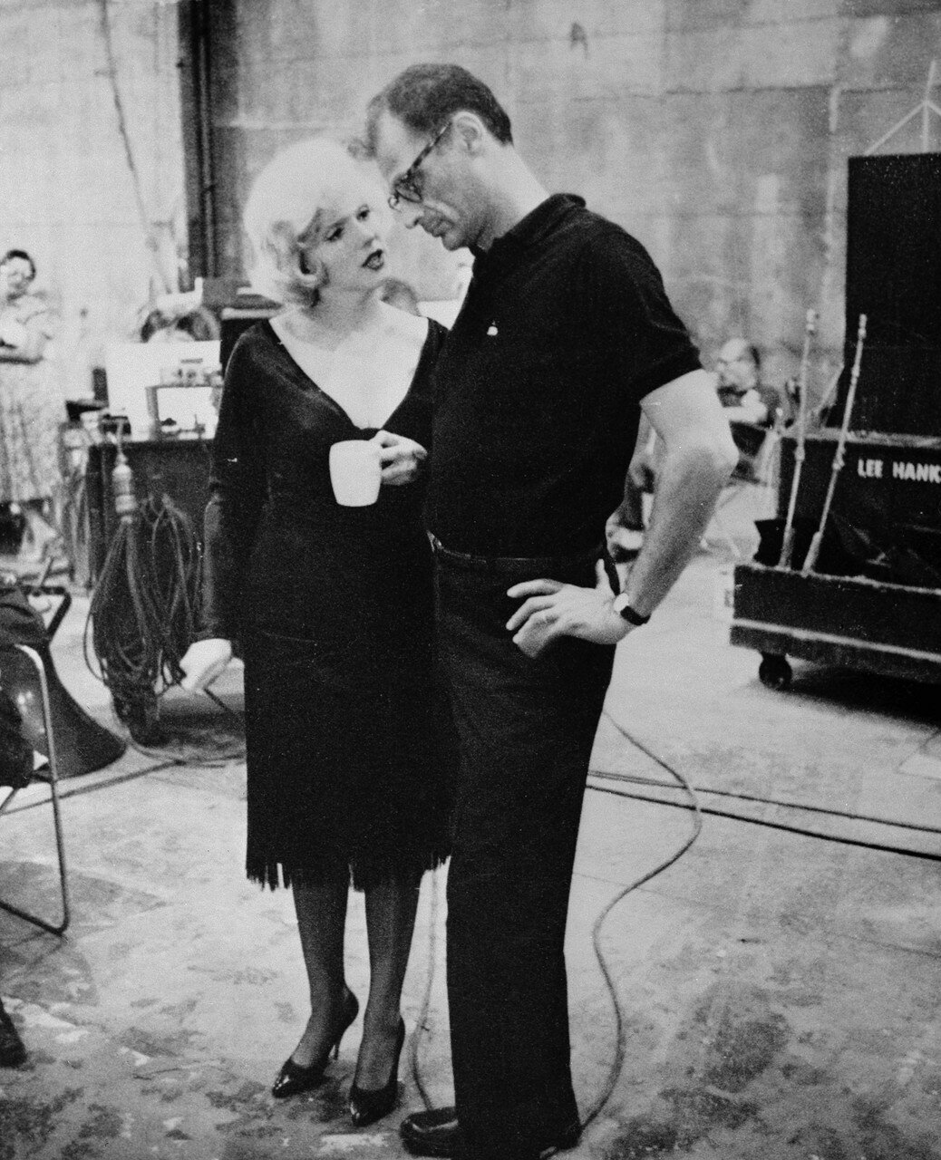 Marilyn Monroe and her Husband