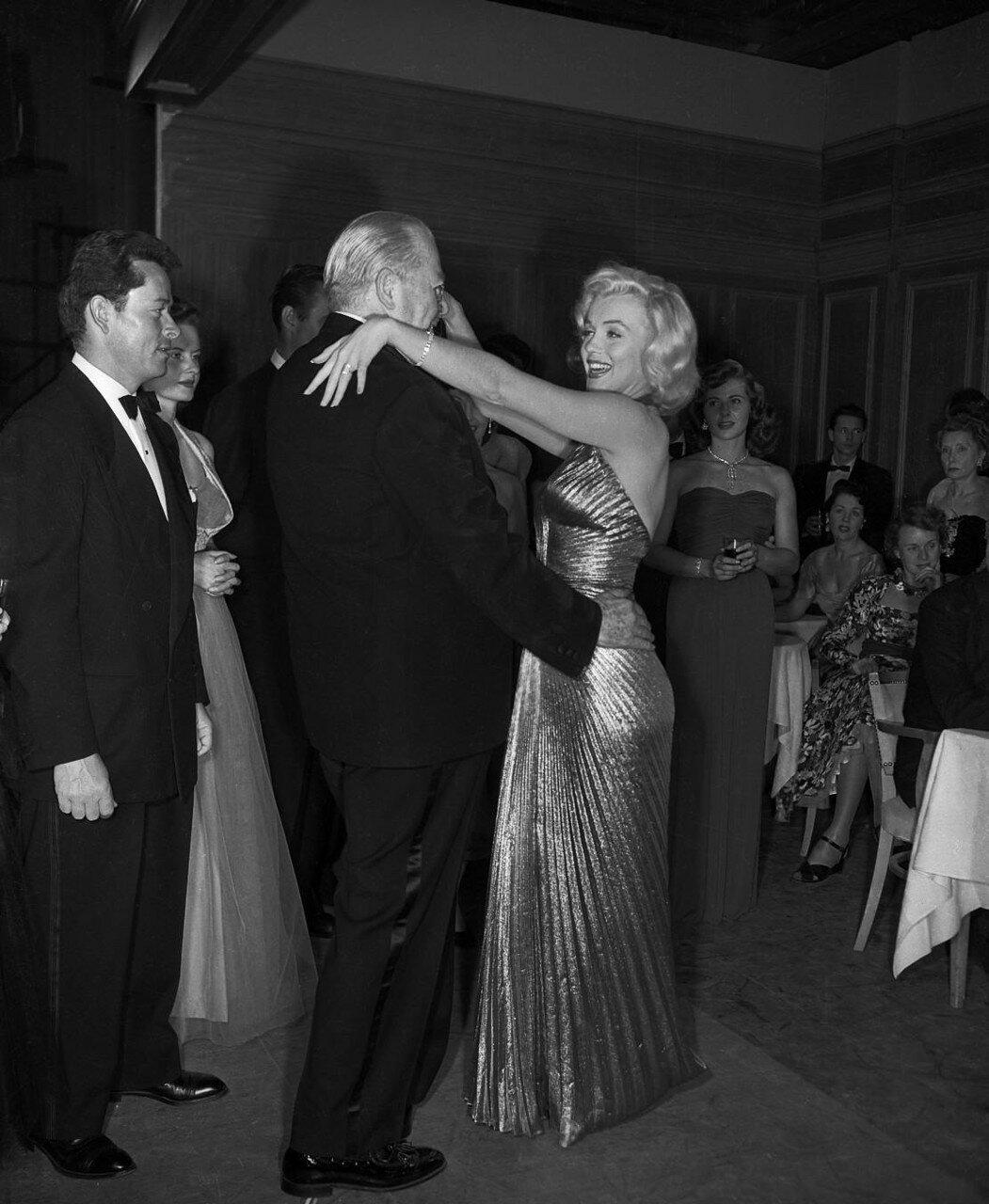 Marilyn Monroe and Charles Coburn Dancing