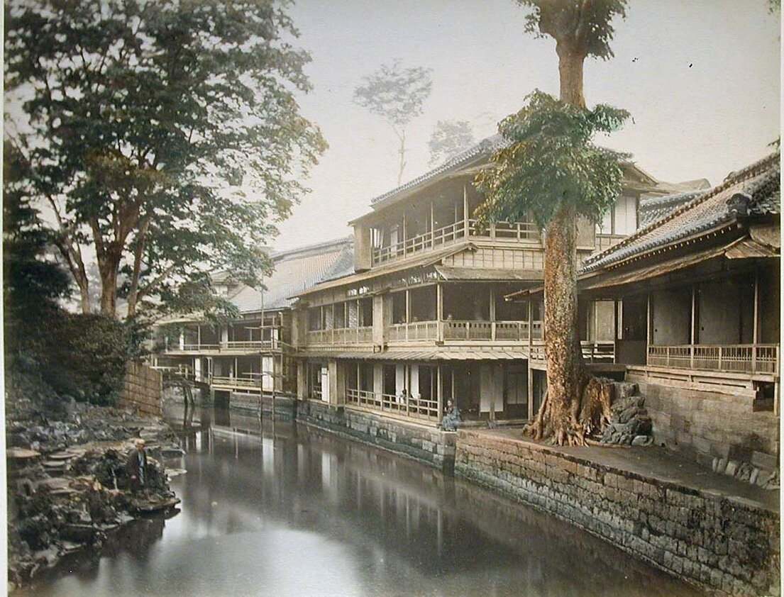 Токио. Чайный домик в Оджи