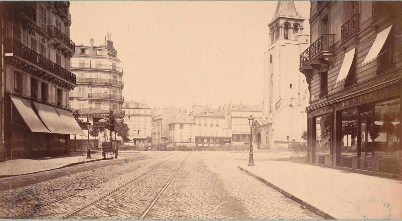 Площадь Сен-Жермен-де-Пре