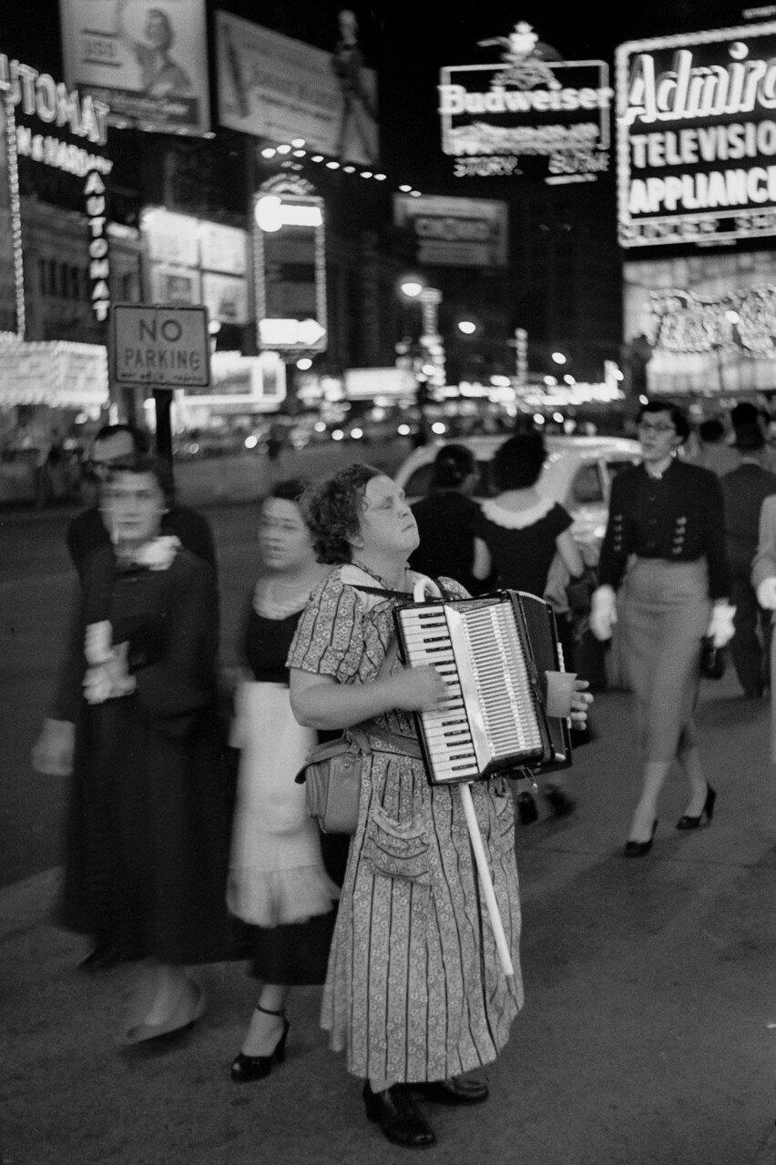 1953. Таймс-Сквер, Нью-Йорк