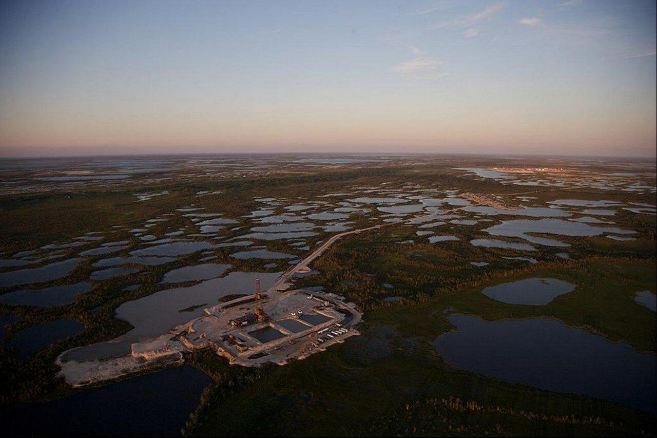 18. Добыча нефти в Сургуте
