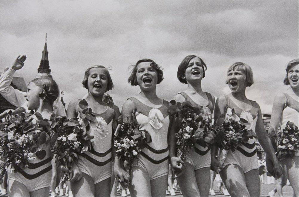 1932. Парад спортсменов в Москве