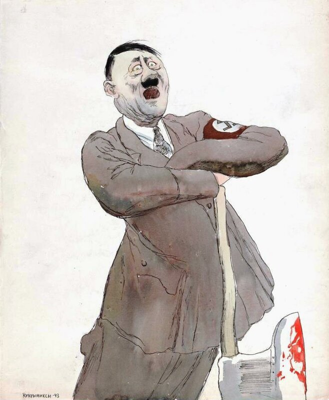 «Красная звезда», 23 марта 1943 года, Адольф Гитлер