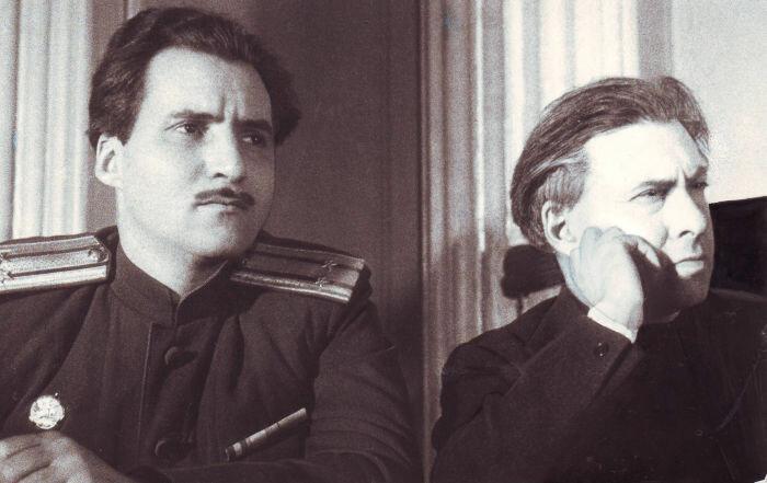 Константин Симонов, Илья Эренбург, стихи о войне