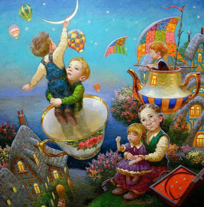 Сказочная живопись Виктора Низовцева (9).jpg