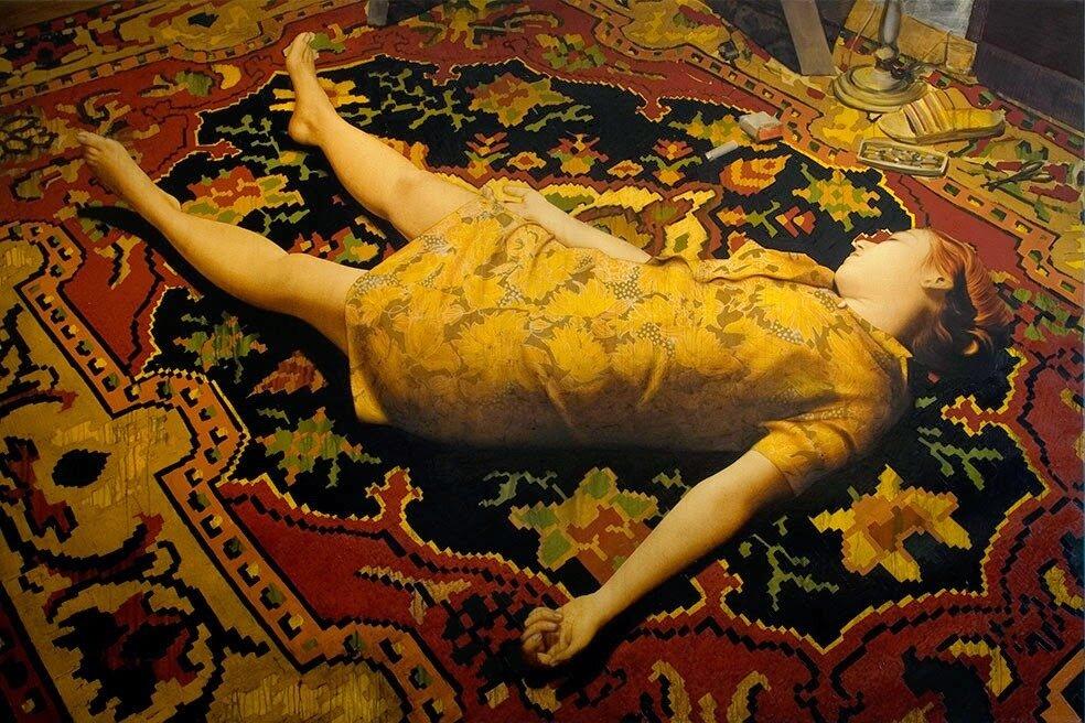 Swept under the rug, Antonio Santin0.jpg