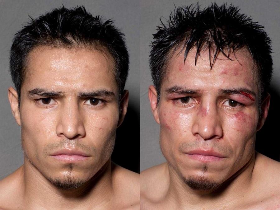Боксёры: До и после боя