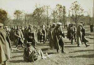 Раненые русские солдаты в Лемберге.