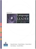 Language Leader Advanced (Coursebook and CD-ROM) pdf, iso в архиве rar  284,06Мб