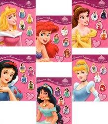 Книга Куклы с нарядами. Принцессы