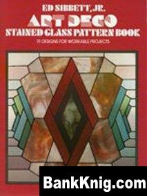 Dover Publication: Deco Stained Glasssigns