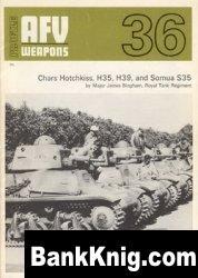 Книга AFV Weapons Profile 36 Chars Hotchkiss, H35, H39, and Somua 35