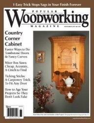 Журнал Popular Woodworking №186 November 2010