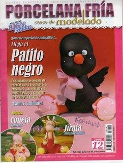 Журнал Porcelana fria. Curso de modelado №12 2008