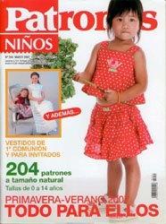 Журнал Patrones Ninos №254 2007