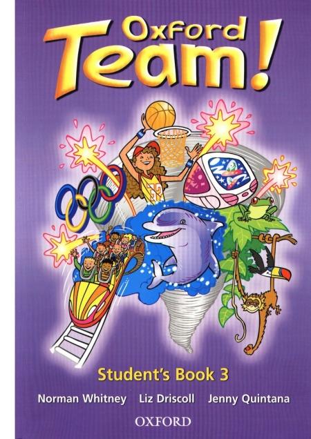 Книга Учебник Английский язык Oxford Team 3 Norman Whitney