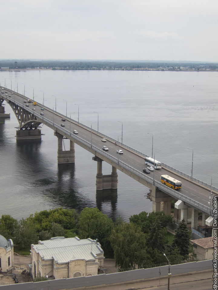 мост и водокачка Саратов
