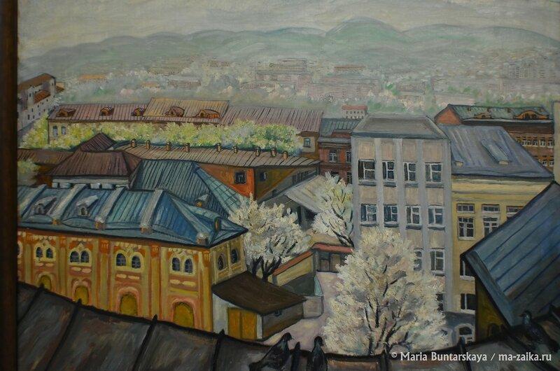 Выставка работ Ольги Бабенковой, Саратов, Радищевский музей, 13 марта 2015 года
