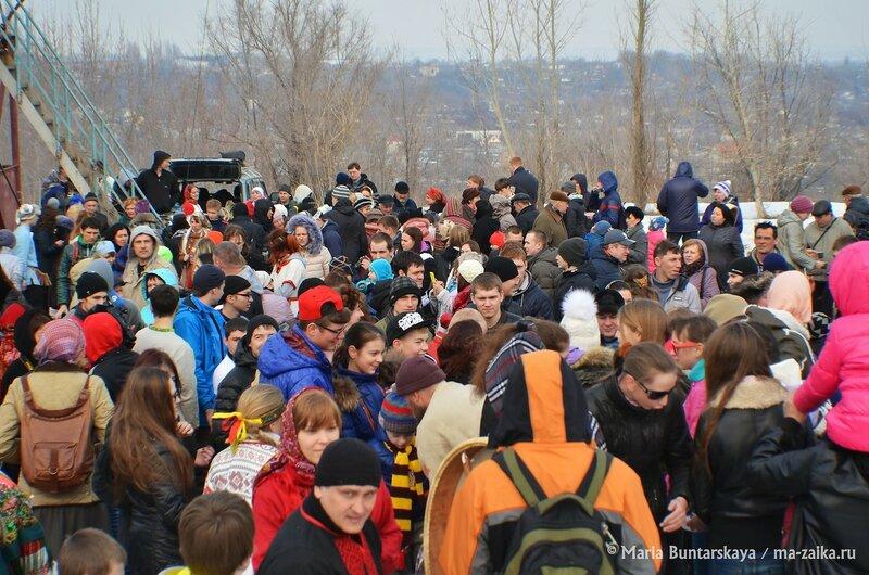 Комоедица, Саратов, парк Победы, 22 марта 2015 года
